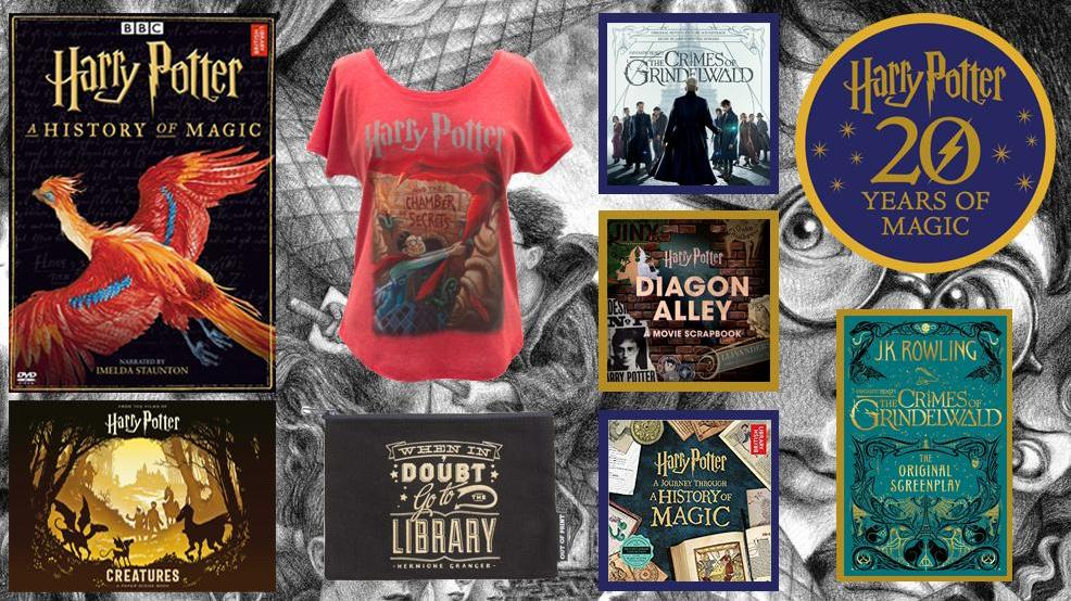 Aparecium: A muggle's reading guide to the Wizarding World