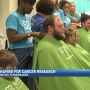 St. Baldrick's Foundation, shaving heads for cancer research