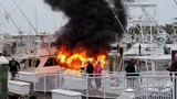 Massive boat fire in Fort Pierce, Fla. ruled an accident