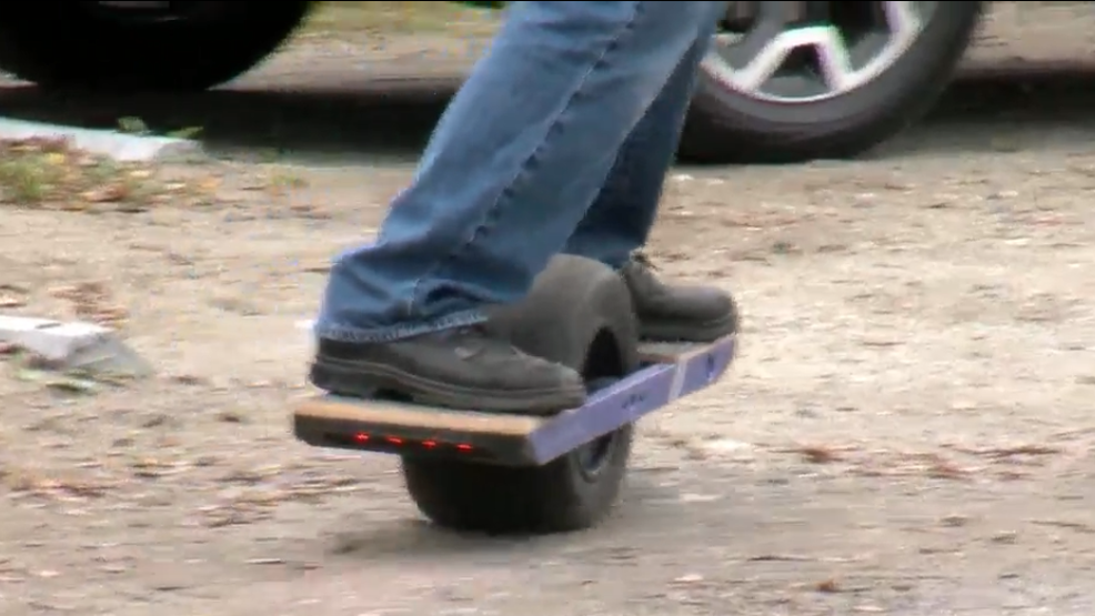 A wild ride on Onewheel, the newest electronic skateboard