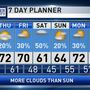 The Weather Authority | Mild Temperatures; A Few Showers