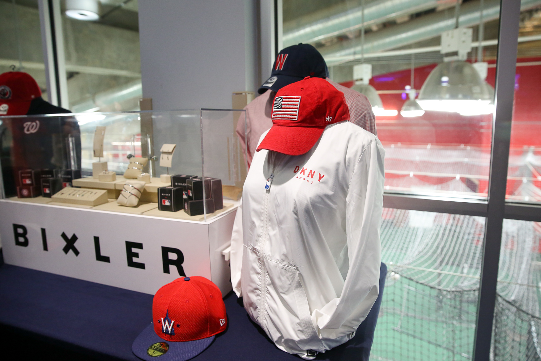 The Nationals introduced new branding and logos this winter and the new apparel will feature an updated look. (Amanda Andrade-Rhoades/DC Refined)
