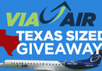 VIA Airlines – Airfare to Austin Giveaway