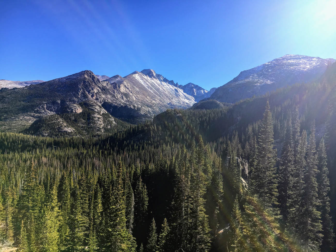 Rocky Mountain National Park is 72 miles from downtown Denver and features 358 square miles of breathtaking scenery with more than 60 mountain peaks. / Image: Di Minardi // Published: 1.18.19