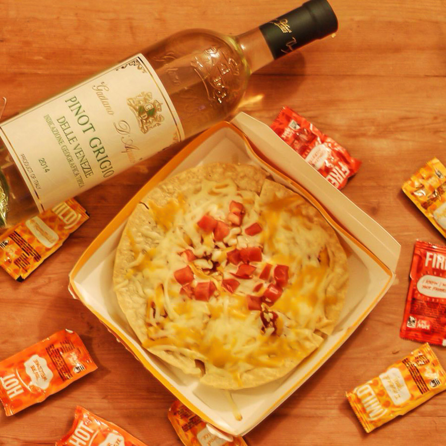We sat down with the budding Instagrammer, whose work was recently featured on Taco Bell's own Instagram account, to find out why the heck he's pairing his fav fast food with wine, what he's learned about wine in the process and what his best discovery has been so far.(Image: Tarun Sinha)