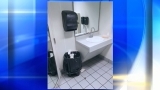 Woman in her 20's dumps newborn baby in gas station trash can