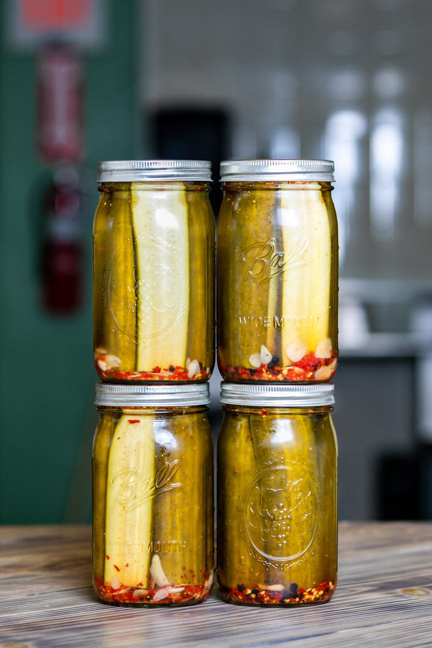 House-made pickles / Image: Amy Elisabeth Spasoff // Published: 9.29.18