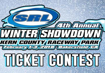 SRL Winter Showdown Ticket Contest