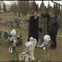 Graves of two brothers repeatedly vandalized