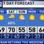 The Weather Authority | Rain Returns This Weekend