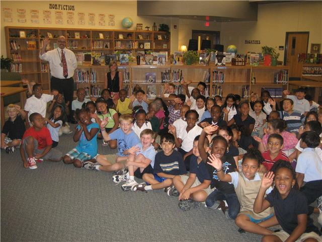 9/14/10...Polo Road Elementary Second Graders