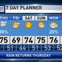 The Weather Authority | Rain/Storms Late Tonight And Tomorrow