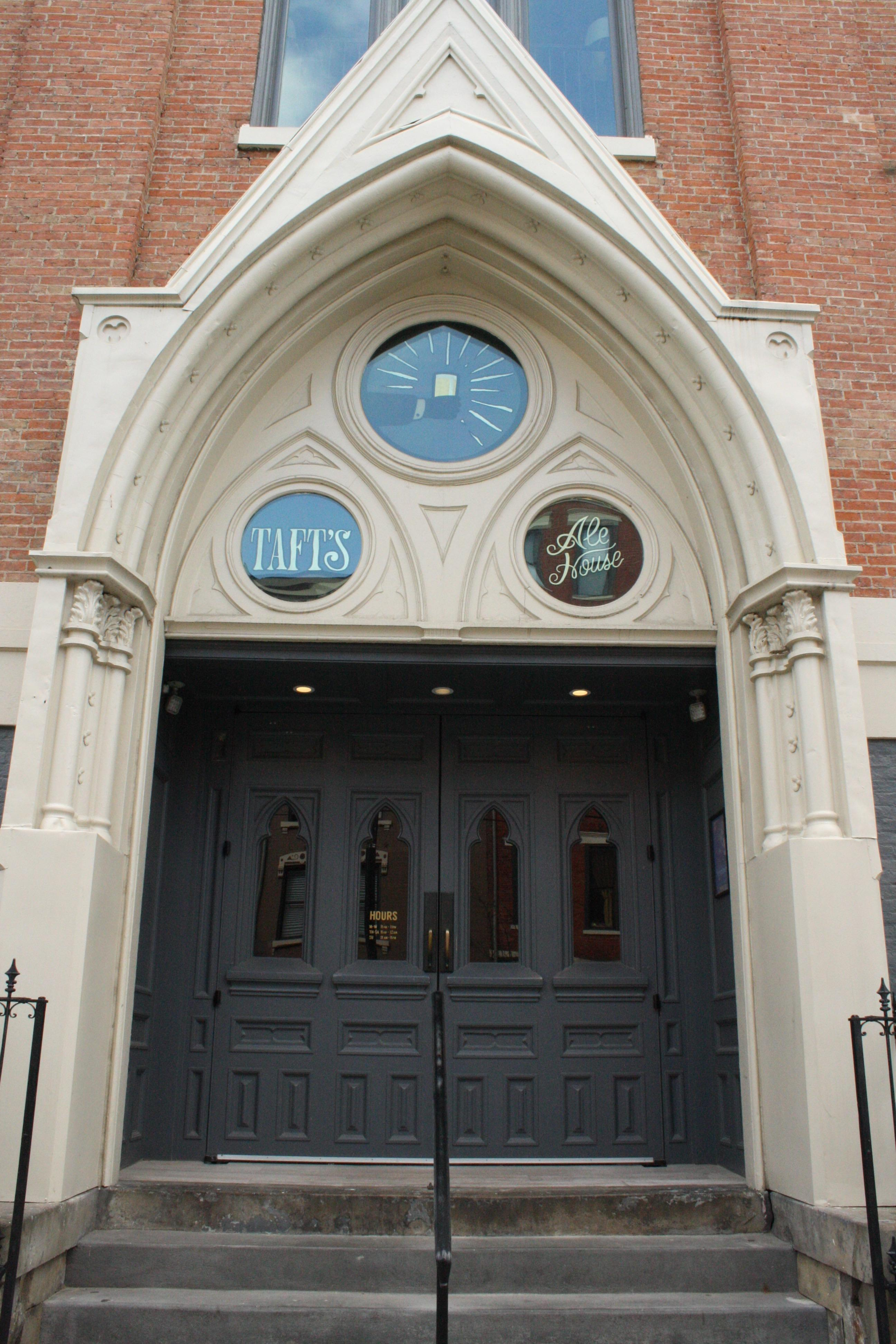 PLACE: Taft's Ale House / NEIGHBORHOOD: Over-the-Rhine / USE: Bar and restaurant / FORMERLY: St. Paul's Evangelical Church / Image: Delaney French // Published: 4.12.17