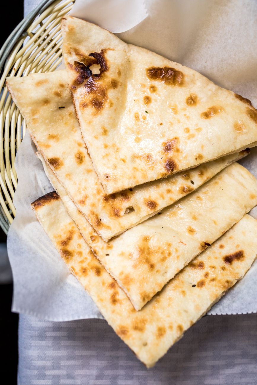 Butter naan / Image: Catherine Viox // Published: 2.6.20