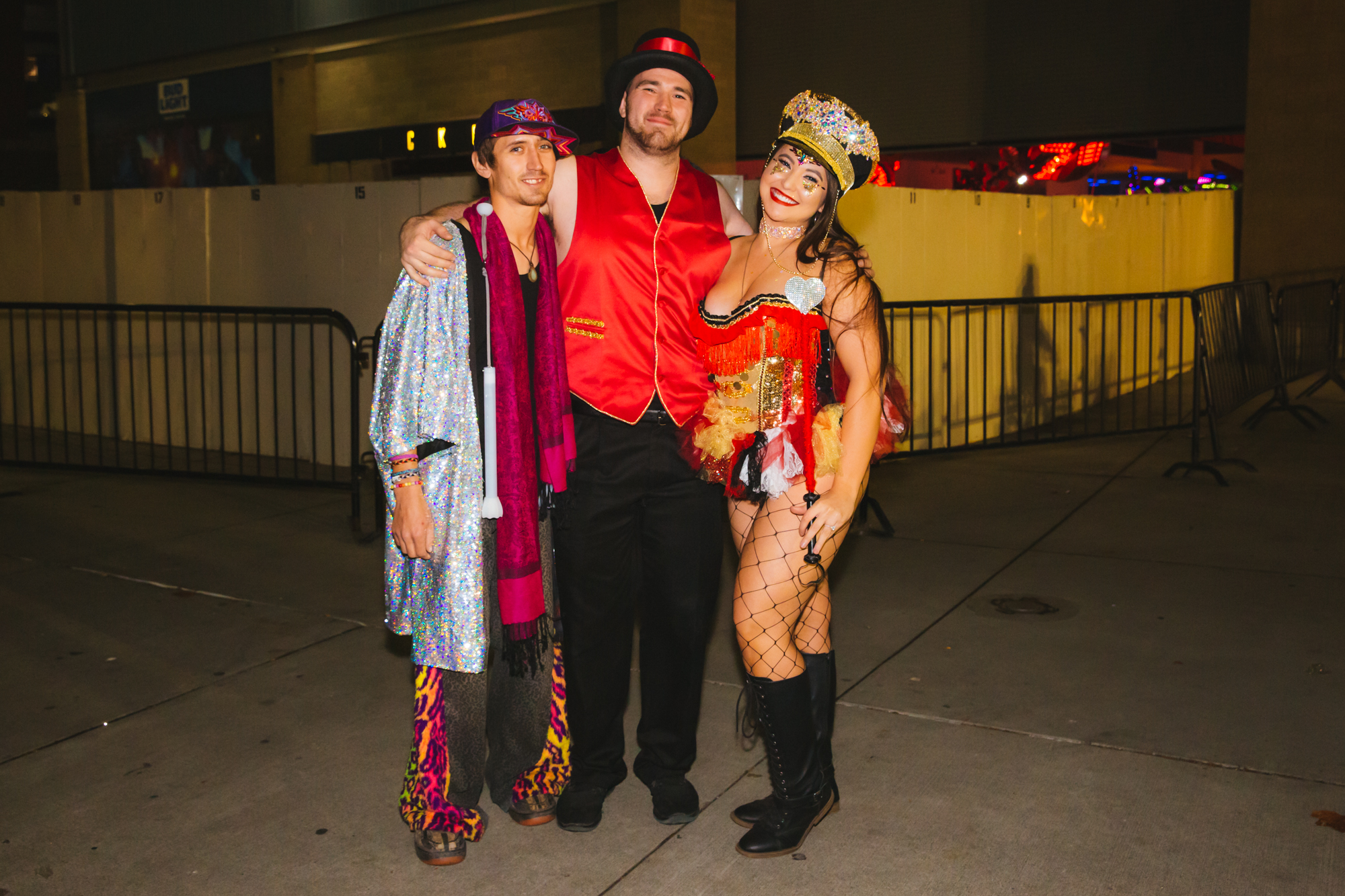 Thousands of people came to the WaMu Theater for the annual FreakNight Electronic Music Festival on Friday night, October 26 2018. The event brings out wildly costumed fans who dance the night away, go on rides and play carnival games. (Image: Sunita Martini / Seattle Refined)