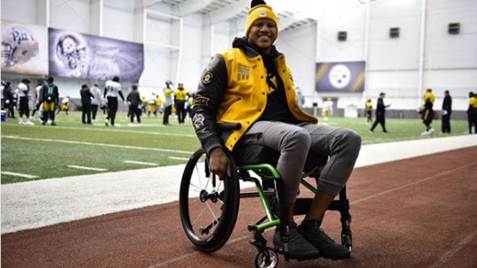 Ryan Shazier, a Pittsburgh Steeler linebacker, and former Ohio State Buckeye is walking again after a significant spinal injury. (Courtesy: Ryan Shazier Instgram, @shazier)