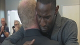 VIDEO: Ricardo Lockette's emotional surprise reunion with paramedics who saved his life