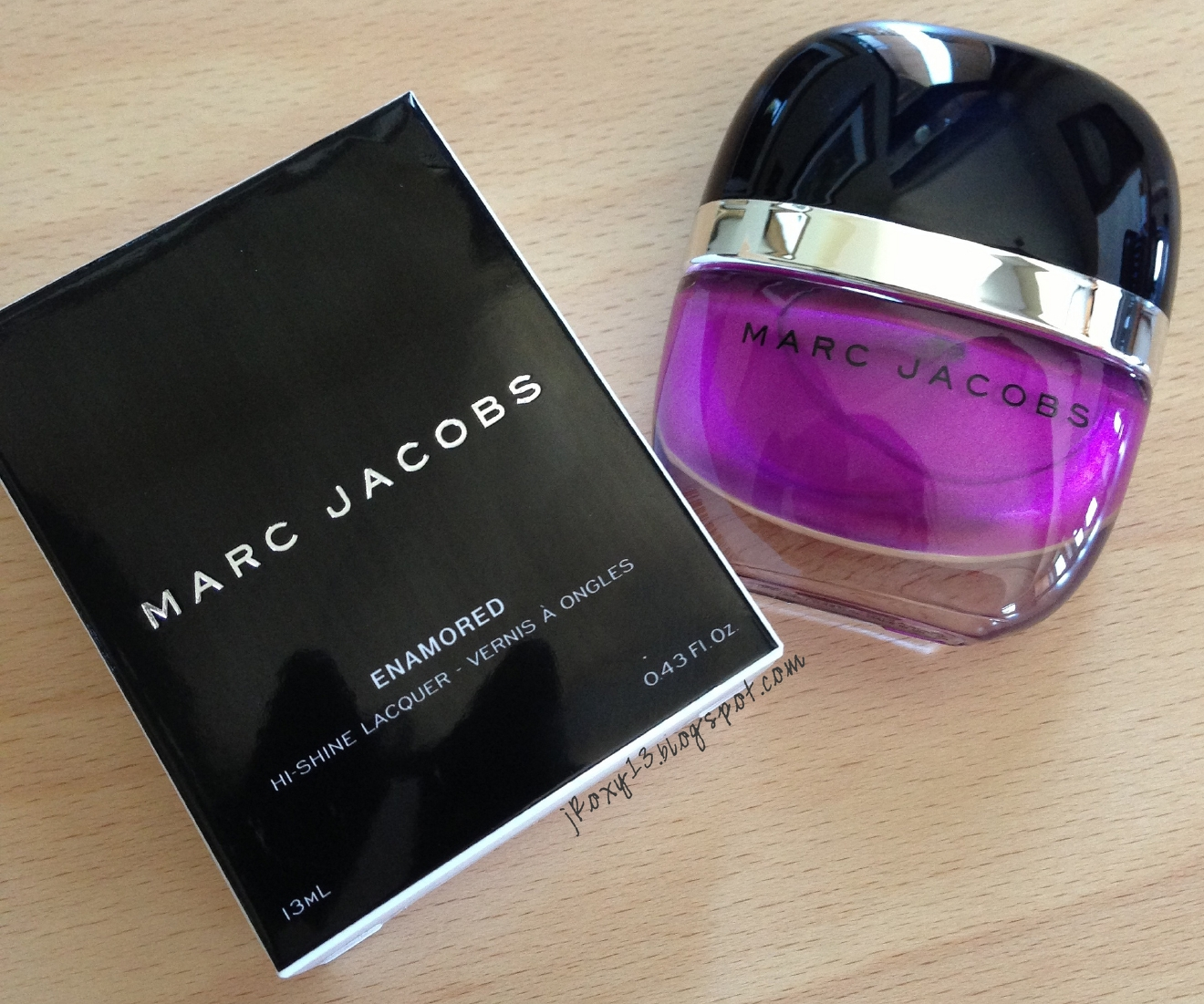 Pick a signature color or go all out and pick up a couple bottles -- Marc Jacob's line comes in and will set you back $18 a pop. (Image: https://flic.kr/p/fgxfgG)