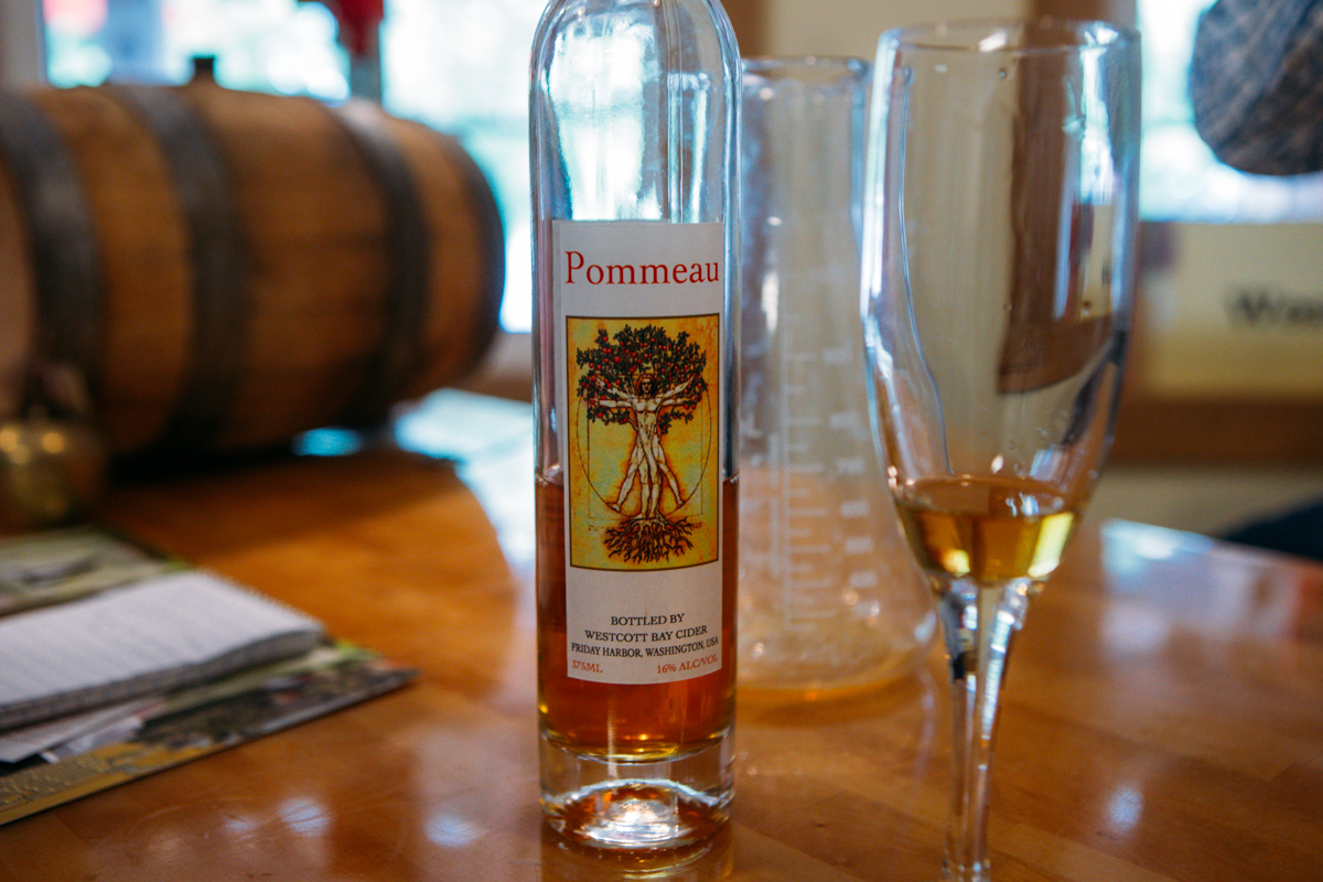 Tucked off a dirt road in the middle of San Juan Island, nationally acclaimed gin, brandy and cider is quietly being made. Suzy and Hawk Pingree run the little distillery that just received a Gold Medal for their apple brandy from the American Craft Distillery. (Joshua Lewis / Seattle Refined)