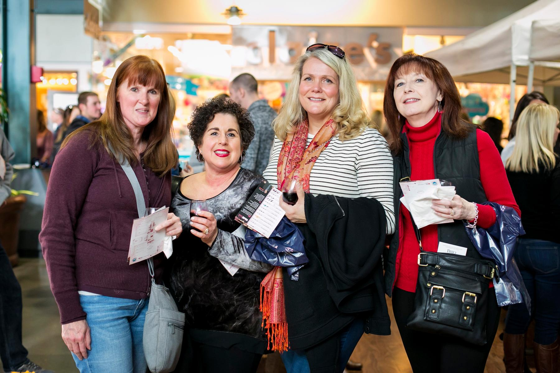 Tina Littlejohn, Lisa Peterson, Jill Herald, and Barb McMillin / Image: Mike Bresnen Photography<p></p>