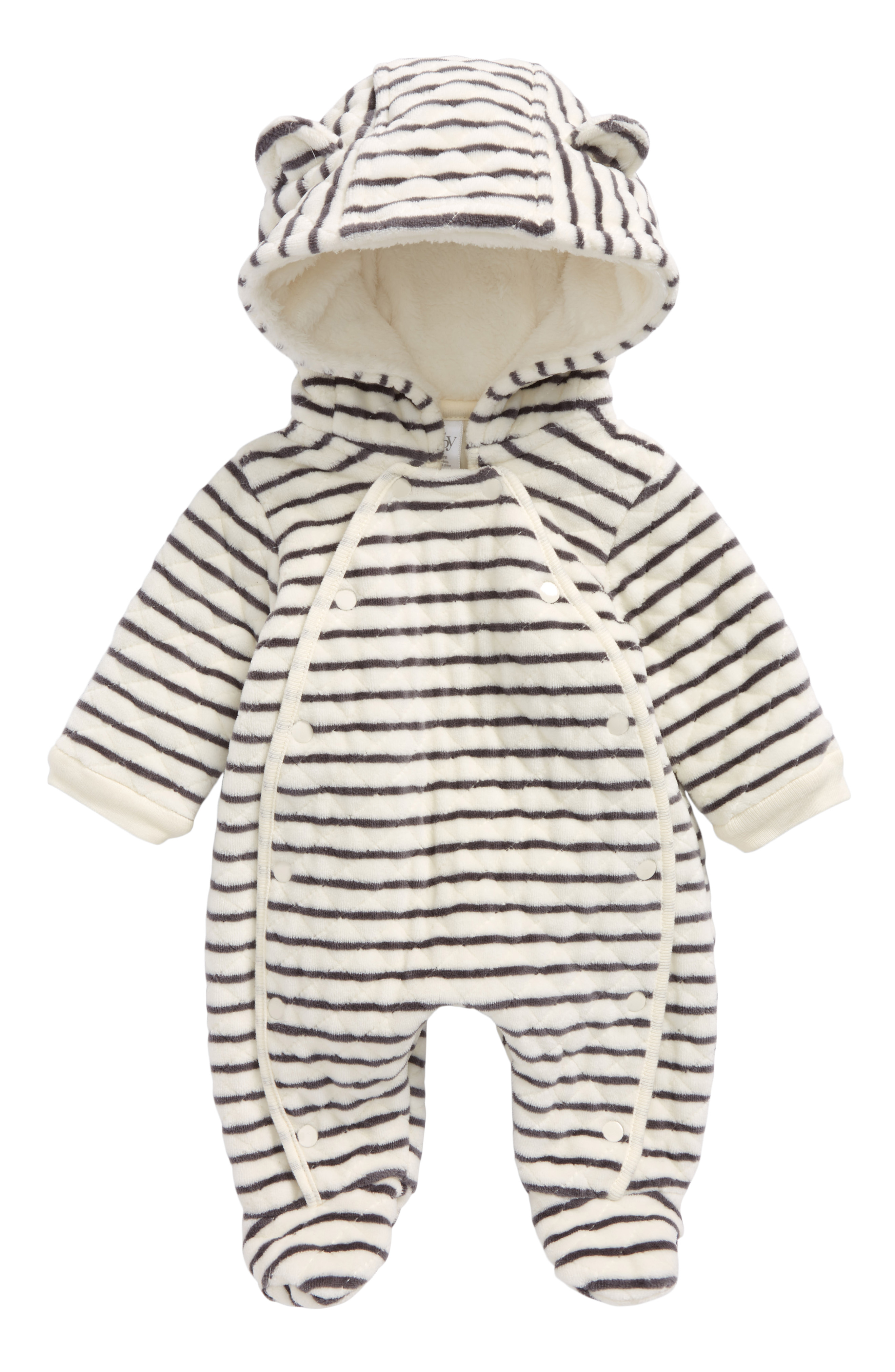 "How sweet is this{&nbsp;}<a  href=""https://www.nordstrom.com/s/tucker-tate-full-zip-hoodie-baby/5475624?origin=keywordsearch-personalizedsort&breadcrumb=Home%2FAll%20Results%2FKids%27%20Clothing&color=blue%20mazarine%20mini%20stripe"" target=""_blank"" title=""https://www.nordstrom.com/s/tucker-tate-full-zip-hoodie-baby/5475624?origin=keywordsearch-personalizedsort&breadcrumb=Home%2FAll%20Results%2FKids%27%20Clothing&color=blue%20mazarine%20mini%20stripe"">Nordstrom Stripe Hoodie Bunting</a>{&nbsp;}for baby. $29.90 (after sale $45) (Image: Nordstrom)"