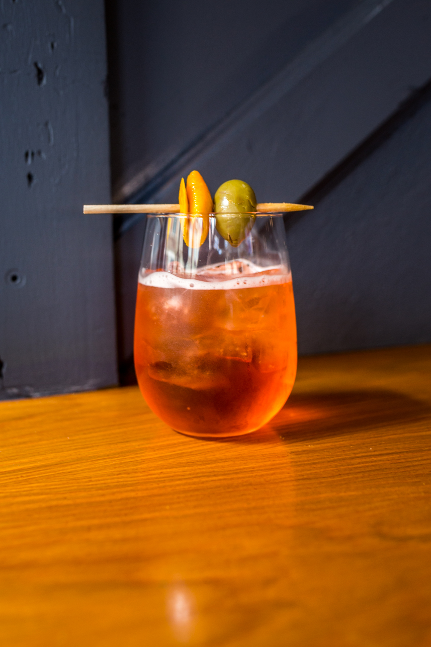 House Spritz: Amaro liqueur, prosecco, and soda / Image: Catherine Viox{ }// Published: 7.12.19