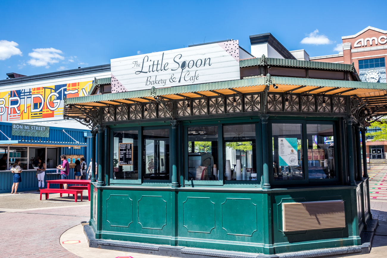 Little Spoon Cafe & Bakery is a full-service coffee and pastry cafe with beautifully decorated cookies. / Image: Catherine Viox // Published: 6.25.20
