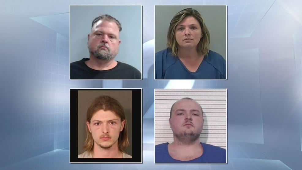 4 members of the Wagner family arrested, charged with Pike