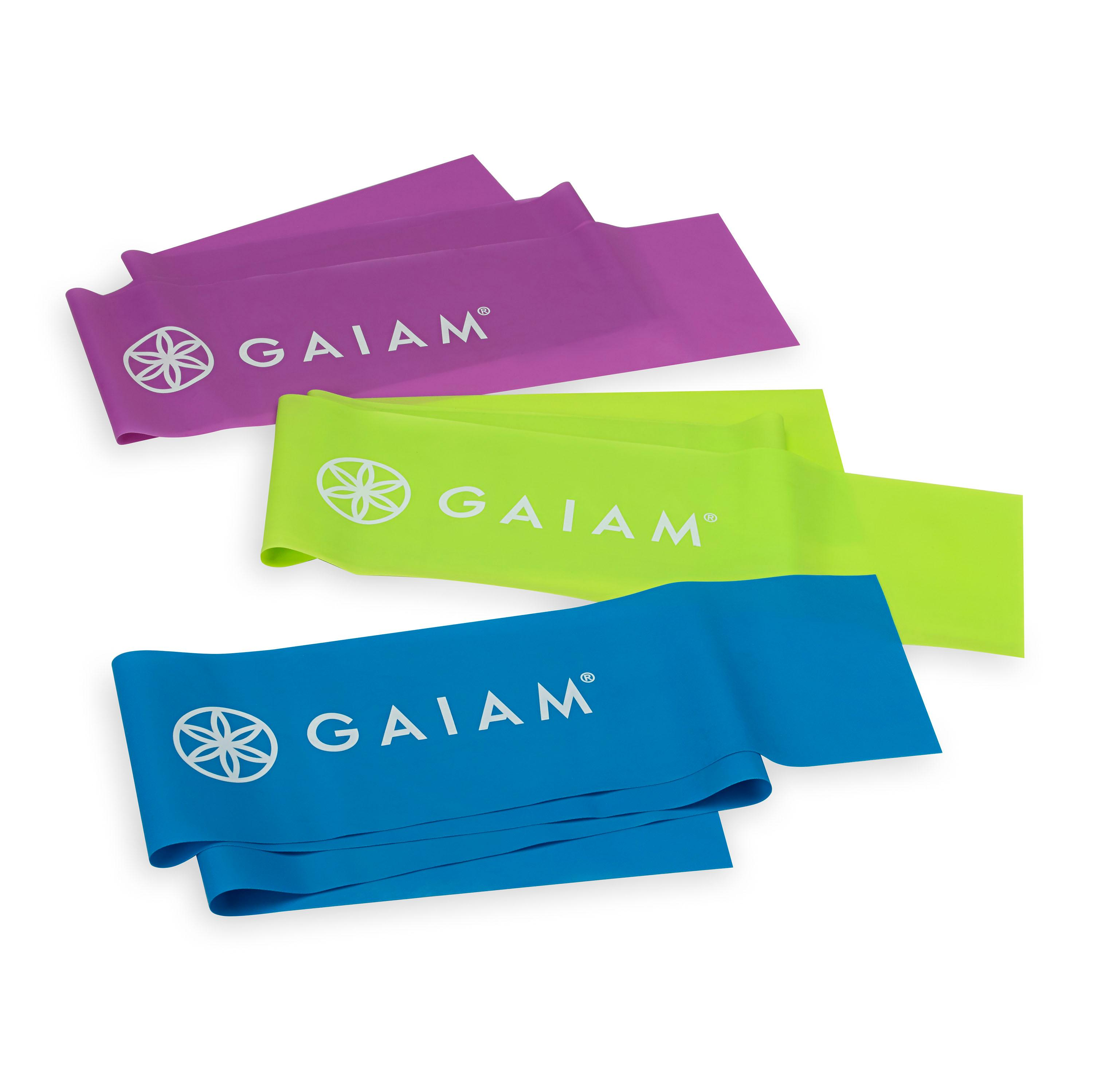 Gaiam Resistance Band Kit // Price: $14.98 // (Image: Gaiam)<p></p>