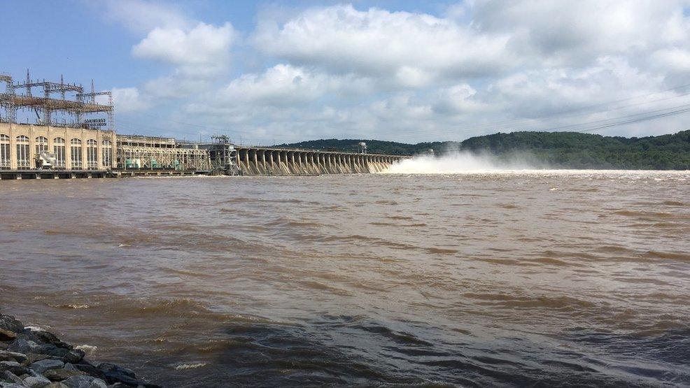 PHOTO Maryland DNR GATES OPENED Conowingo Dam
