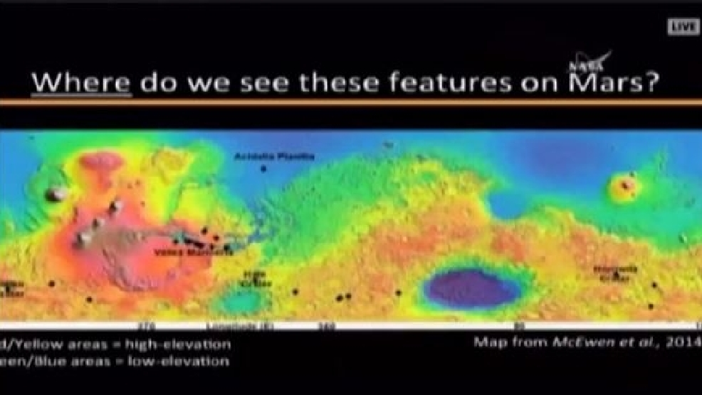 NASA: There is water on Mars