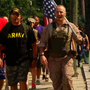 Hendersonville hike honors those who serve