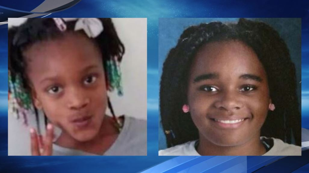 Missing sisters Laila McNeil (left) and Paris Williams (right). (Metropolitan Police Department)