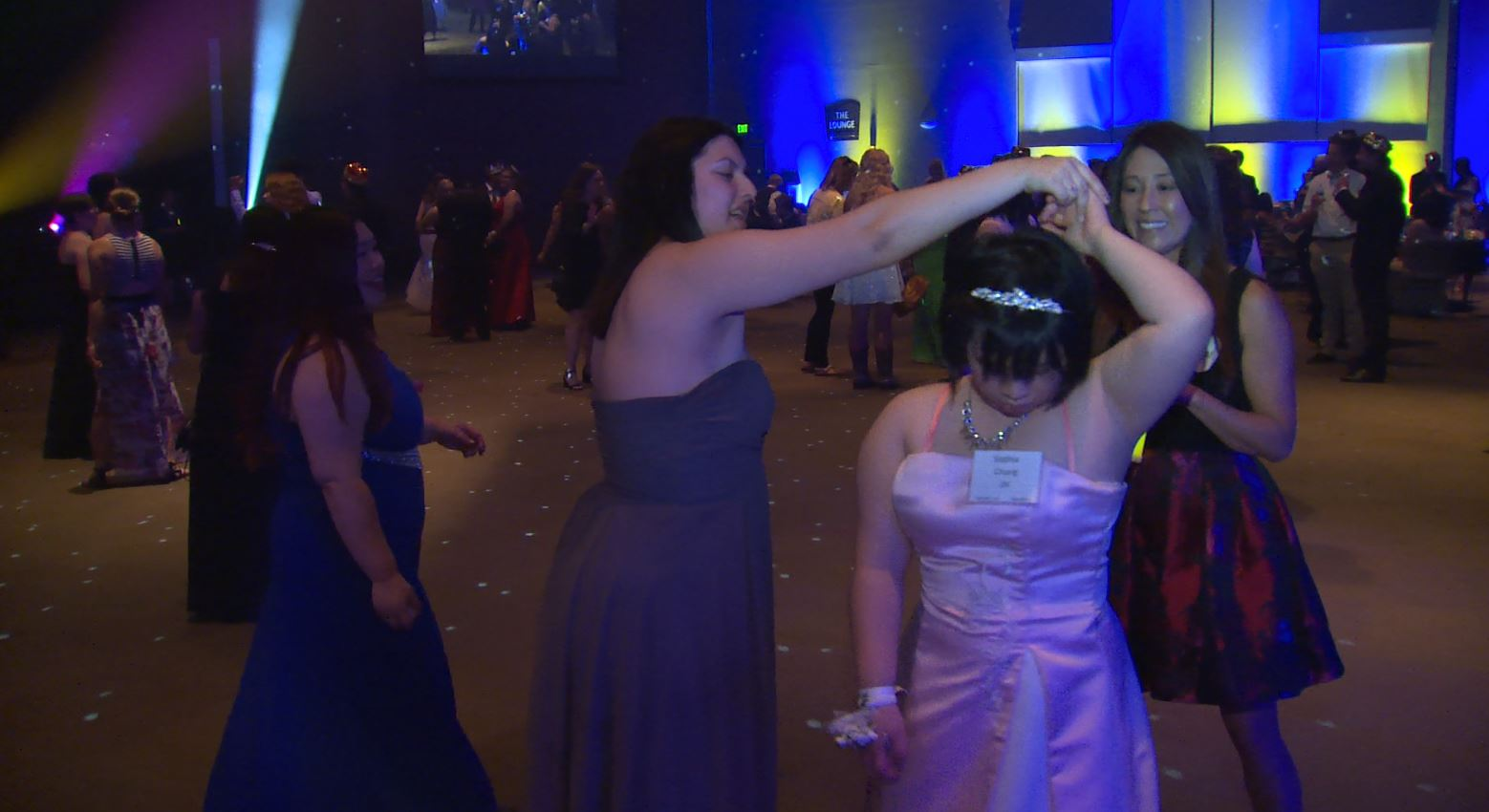 A prom in Fresno is just for people 15 to 21 with special needs.