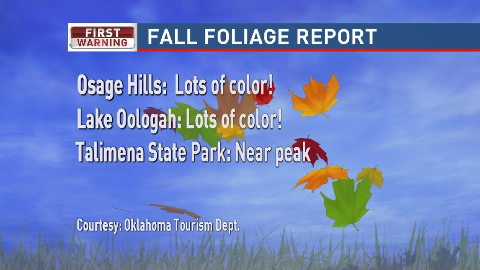 Fall color delayed this year