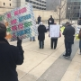 Opponents of Republican health care plan protest downtown Toledo