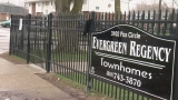 Man dead after a shooting at the Evergreen Regency Townhomes in Flint