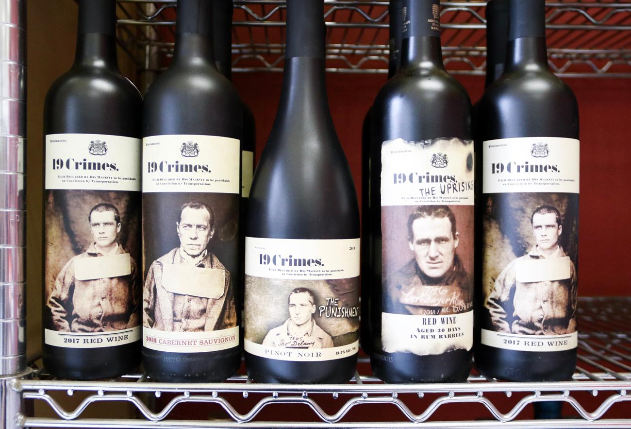 A sampling of the store's wine selection / Image: Ronny Salerno // Published: 4.25.19