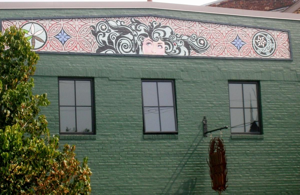 Art on the building at Django Western Taco / (Image: Ericka McIntyre)