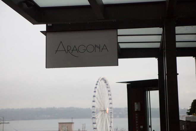 Aragona, located at 96 Union Street in Downtown Seattle, serves up Regional Spanish Cuisine. Aragona is Spinasse's Jason Stratton's newest project and serves dinner Monday through Saturday and is closed Sunday's. (Joshua Lewis / KOMO News)