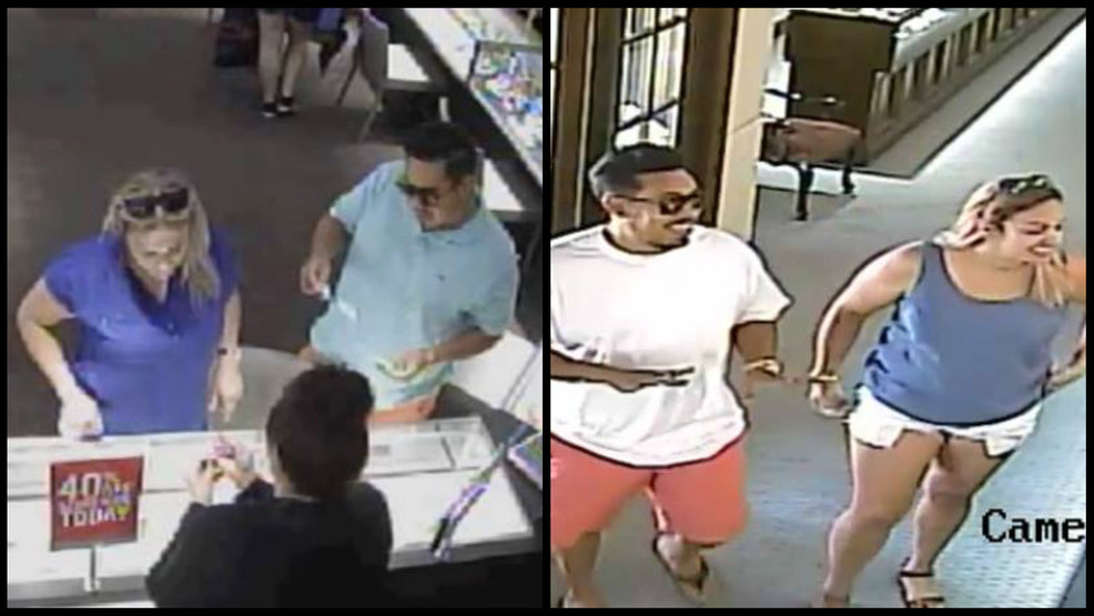 Couple wanted for 3 bait and switch ring thefts in the metro and