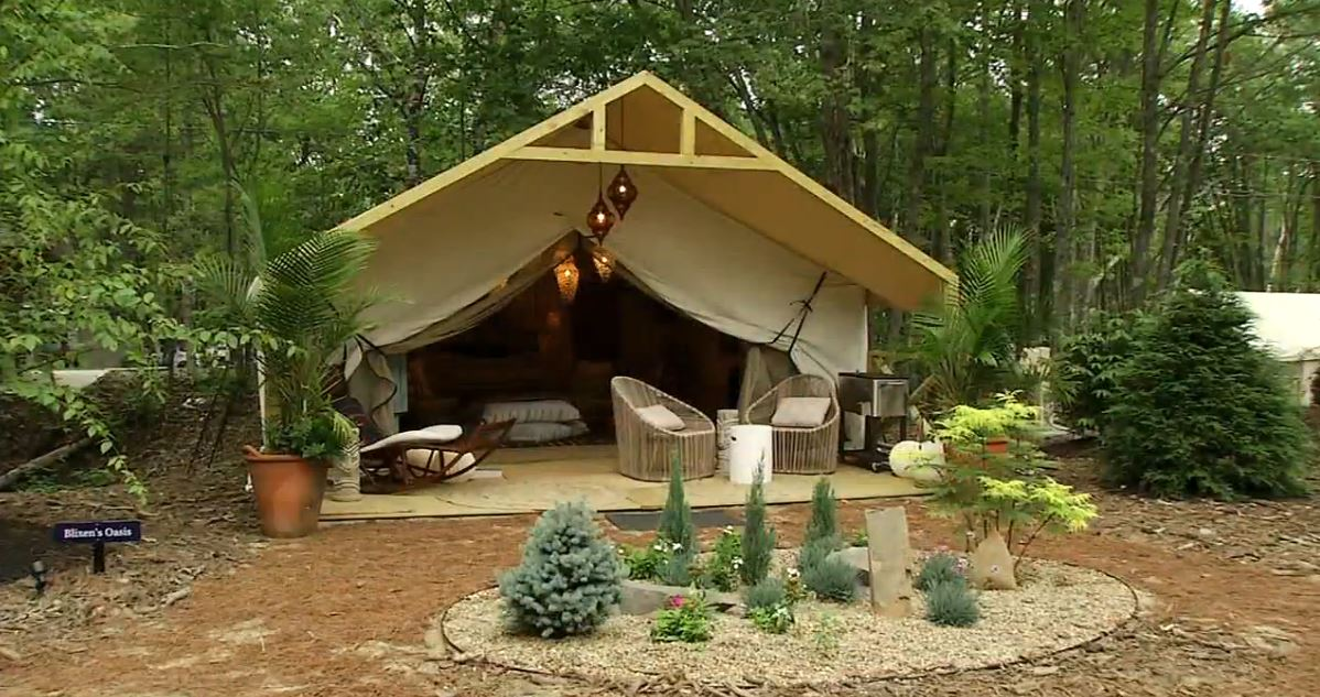 There's something for everyone at Sandy Pines Campground in Kennebunkport, including a new type of Glamorous camping that's trending across the world. (WGME)