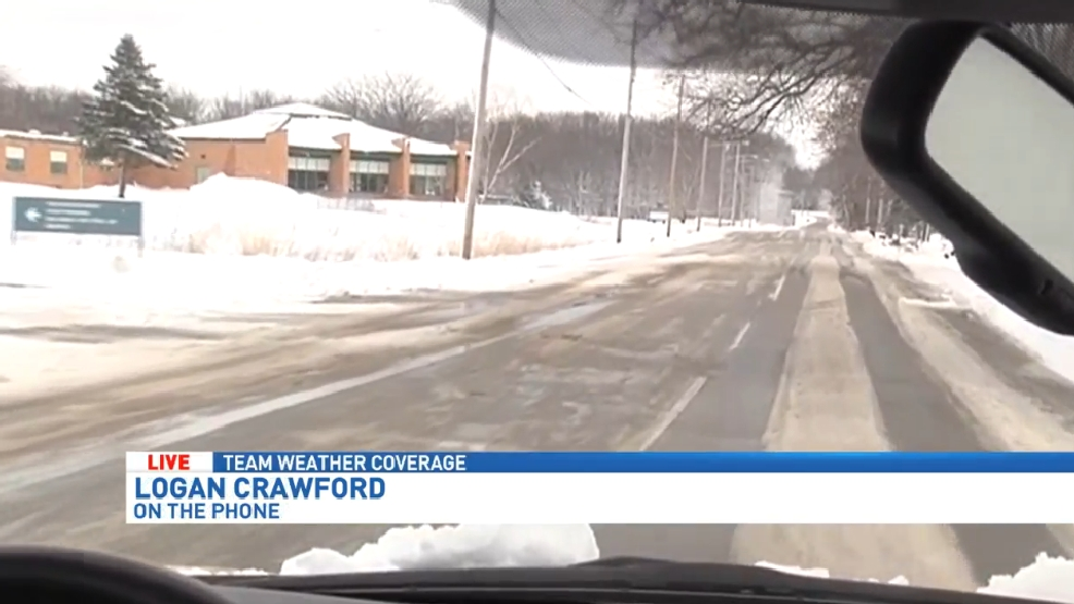 Afternoon road conditions in Calhoun Co    WWMT