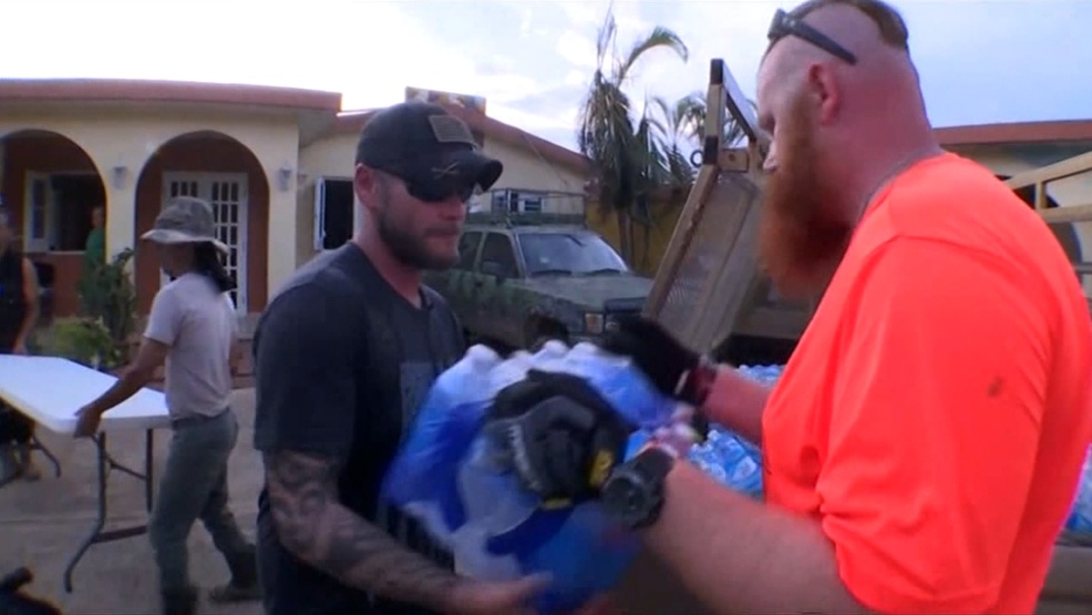 Iowa Veteran Returns Home After Hurricane Relief Aid in Puerto Rico
