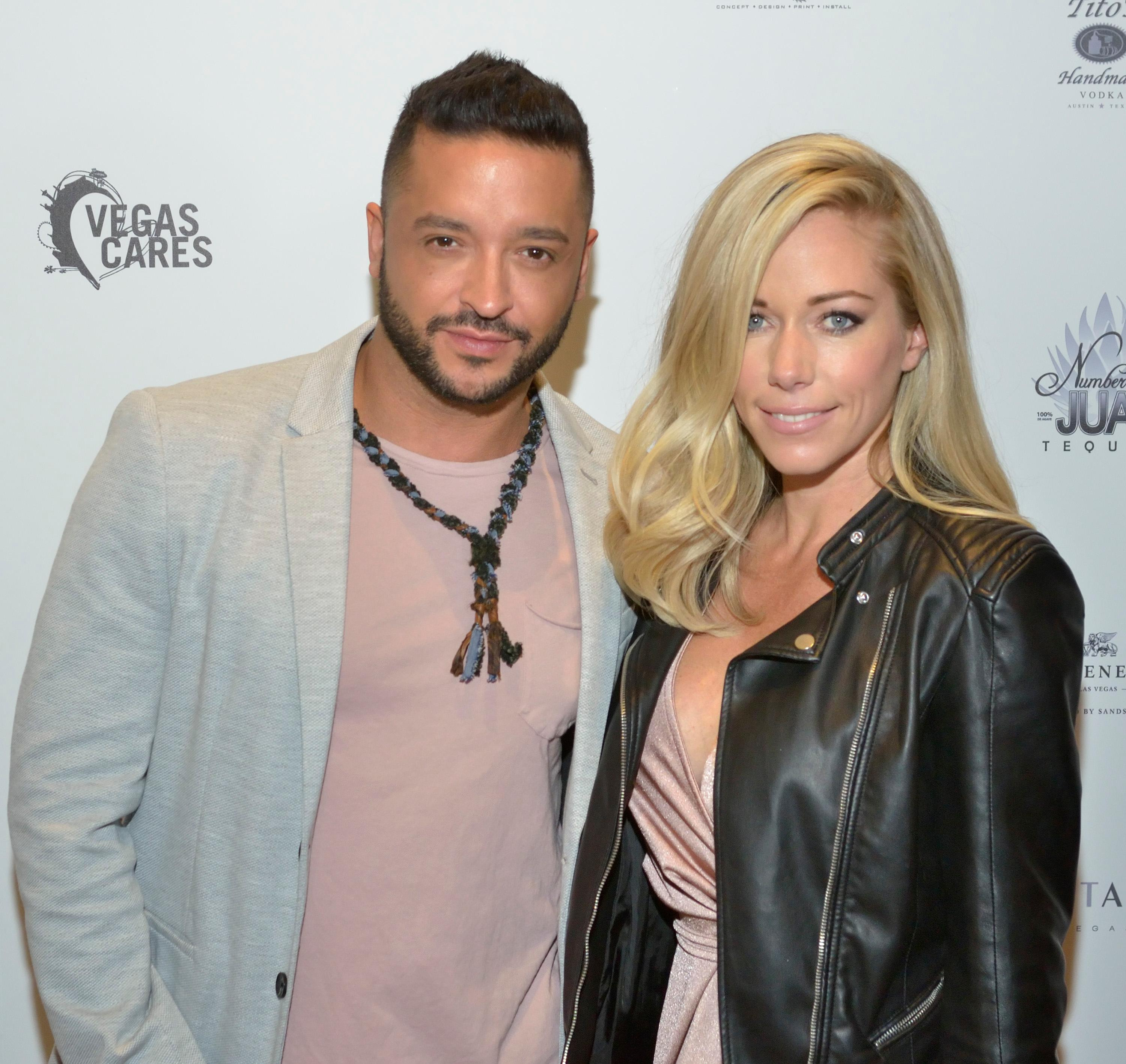 "Jai Rodriguez and Kendra Wilkinson are shown at the ""Vegas Cares"" benefit concert at the Venetian Theatre in the Venetian hotel-casino at 3355 S. Las Vegas Blvd in Las Vegas on Sunday, Nov 5, 2017. The concert was sponsored by a group of Las Vegas entertainers, producers and business professionals to honor the victims and first responders from shooting at the Route 91 Harvest festival. (Photo/Las Vegas News Bureau/Bill Hughes)"