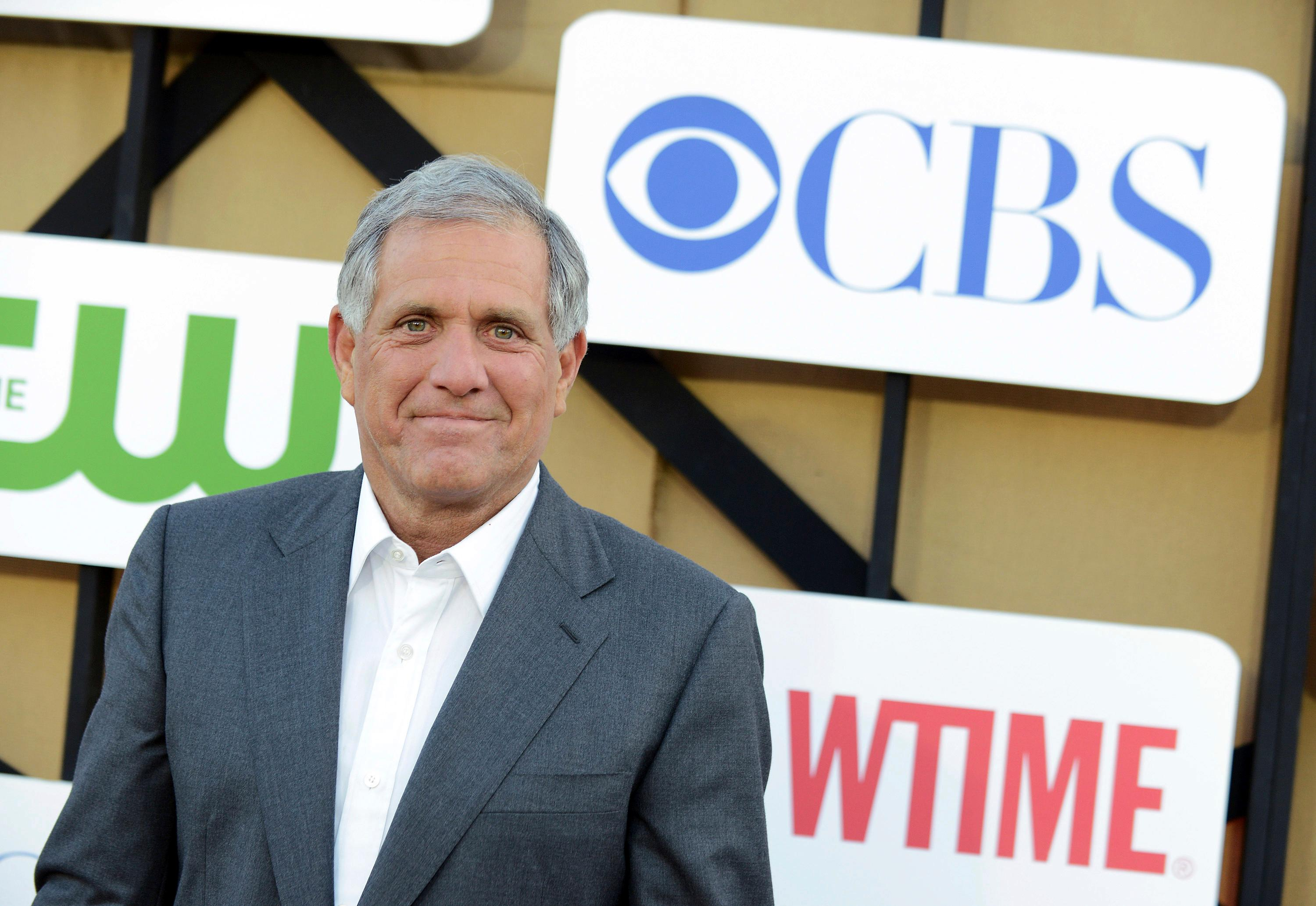 FILE - In this July 29, 2013, file photo, Les Moonves arrives at the CBS, CW and Showtime TCA party at The Beverly Hilton in Beverly Hills, Calif.  On Sunday, Sept. 9, 2018, CBS said longtime CEO Les Moonves has resigned, just hours after more sexual harassment allegations involving the network's longtime leader surfaced. (Photo by Jordan Strauss/Invision/AP, File)