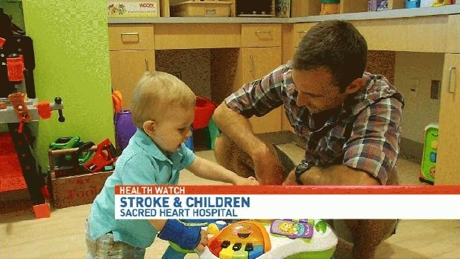 Health Watch: Local baby survives stroke at birth