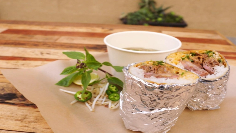 The phorrito combines the best of traditional vietnamese - Modern american cuisine ...