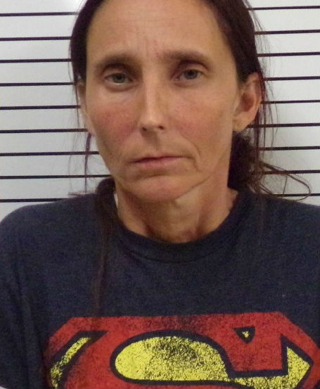 Patricia Spann, 44, faces a complaint of incest in Stephens County. (Stephens County Jail)