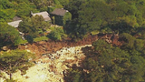 Austin homes feet from drop-off after Shoal Creek landslide